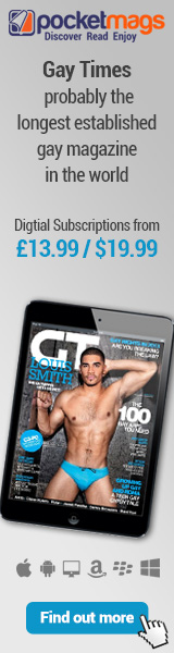 Gay Times Magazine Subscripton